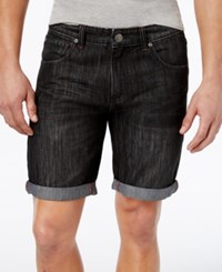 Inc International Concepts Men's Cavill Classic Fit Denim Shorts Only At Macy's Black Wash