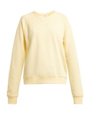 The Upside Bondi Cotton Sweatshirt Yellow