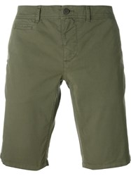 Woolrich Classic Chinos Shorts Green