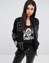 Boy London Flag Hoodie Black
