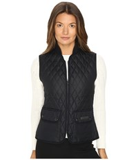 Belstaff Wickford Lightweight Technical Quilt Vest Dark Navy Women's Vest