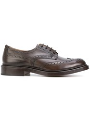 Tricker's Trickers Bourton Lace Up Shoes Leather 8.5 Brown