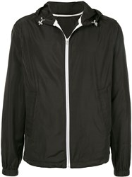 Ck Calvin Klein Zipped Hooded Jacket Black