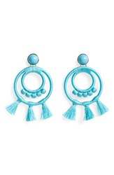 Baublebar Women's Romany Drop Earrings Turquoise