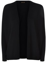 Jaeger Gostwyck Wool Oversized Cardigan Black