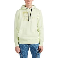 Alyx Collision Cotton Fleece Hoodie Yellow