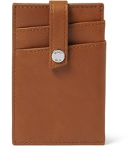 Want Les Essentiels Kennedy Leather Card Holder Tan