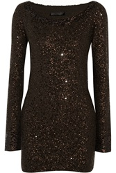 Donna Karan Sequined Cashmere Tunic