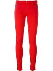Love Moschino Skinny Jeans Red