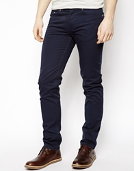 United Colors Of Benetton Slim 5 Pocket Trouser Navy