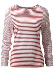Craghoppers Nosilife Erin Long Sleeved Top Red