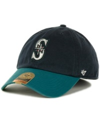'47 Brand Seattle Mariners Franchise Cap Navy Teal