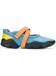 Camper Dub Touchs Trap Sneakers Blue