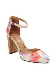 Elie Tahari Essex Floral Pumps Floral Multi