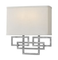 Hinkley Lanza 2 Light Wall Sconce White