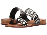 Dolce Vita Payce Tribal Print Stella Women's Slide Shoes Black