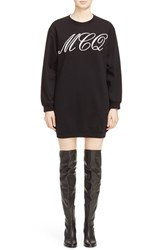 Mcq By Alexander Mcqueen Women's Tattoo Print Sweater Dress