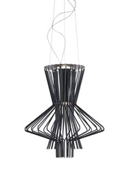 Foscarini Allegretto Ritimico Suspension Lamp Black