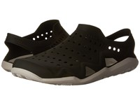 Crocs Swiftwater Wave Black Pearl White Men's Sandals