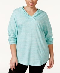 Styleandco. Style And Co. Sport Plus Size Space Dyed Pullover Hoodie Only At Macy's