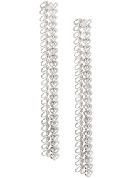 Wouters And Hendrix My Favourites Long Chain Earrings Silver