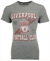 47 Brand '47 Men's Liverpool Fc Crest Tri State T Shirt Heather Gray