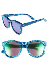 Wildfox Couture Classic Fox Deluxe 59Mm Sunglasses Monterey Green Mirror Monterey Green Mirror