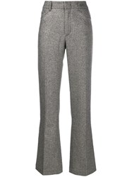 Zadig And Voltaire Metallic Finish Trousers 60