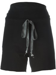 Lost And Found Rooms High Rise Shorts Black