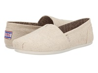 Bobs From Skechers Bobs Plush Best Wishes Natural Women's Slip On Shoes Beige