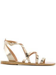 Ancient Greek Sandals Delia Vachetta Gold