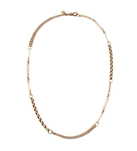Annina Vogel 9Ct Gold Naked Short Investment Necklace
