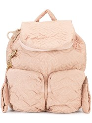 See By Chloe 'Bisou' Backpack Pink And Purple