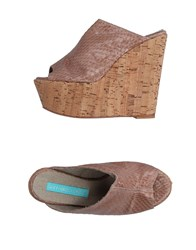 Gianmarco Lorenzi Sandals Skin Color