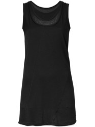 Demoo Parkchoonmoo Layered Tank Top Black