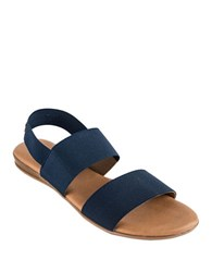Andre Assous Nigella Strappy Slingback Sandals Navy