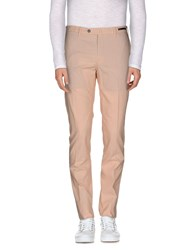 Pt01 Trousers Casual Trousers Men Salmon Pink