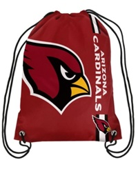 Forever Collectibles Arizona Cardinals Big Logo Drawstring Bag Red