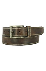 Remo Tulliani Men's Bo Leather Belt Brown