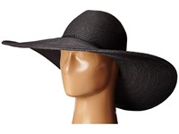 San Diego Hat Company Ubx2722 Pinched Crown Floppy Sun Hat Black Caps