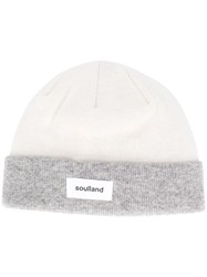 Soulland Villy Colour Block Beanie 60