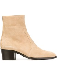 Jean Michel Cazabat 'Zoe' Ankle Boots Nude And Neutrals