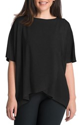 Bun Maternity 'S Draped Nursing Top Black