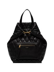 Givenchy Black Quilted Leather Backpack