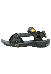 Jack Wolfskin Lakewood Ride Walking Sandals Burly Yellow Grey