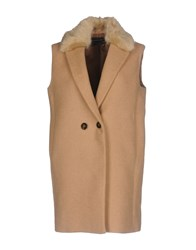 Guess By Marciano Coats And Jackets Coats Camel