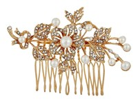Nina Ladee Gold Crystal Pearl Hair Accessories