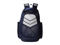 Nike Vapor Power Backpack Midnight Navy Wolf Grey Metallic Silver Backpack Bags