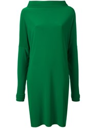 Norma Kamali All In One Dress Women Polyester Spandex Elastane M Green
