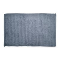 Dkny Mercer Plain Dye Bath Mat Denim
